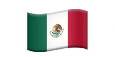 Bandera de México. Foto:Apple