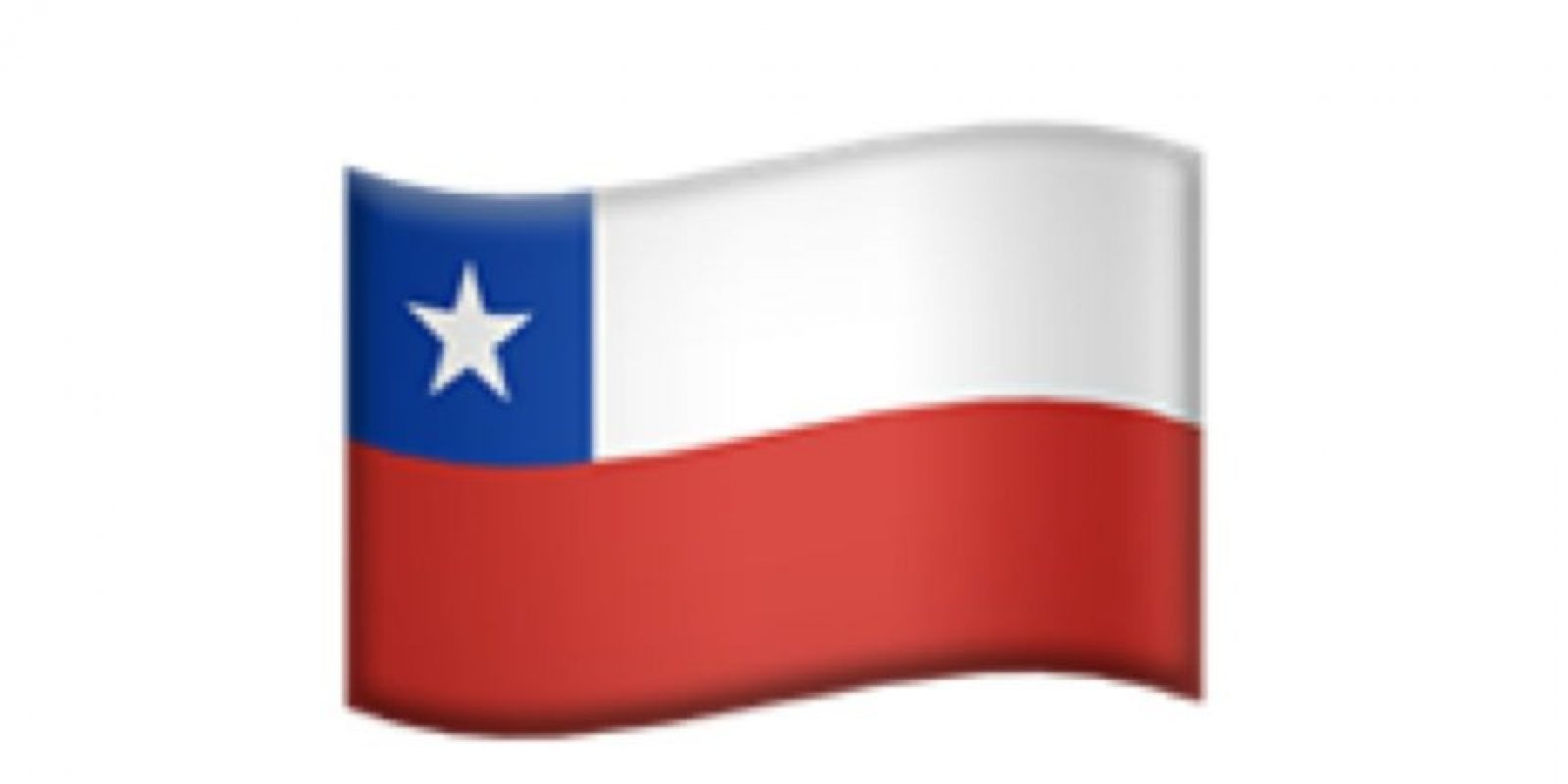 Bandera de Chile. Foto:Apple
