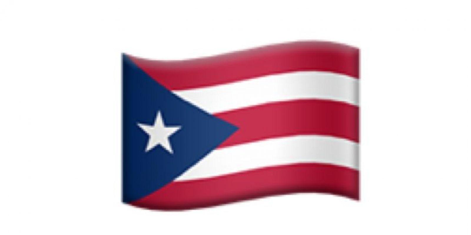 Bandera de Puerto Rico. Foto:Apple