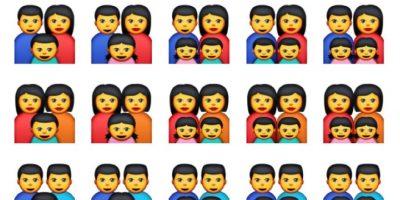 Hay unas familias con padres del mismo sexo Foto:Apple