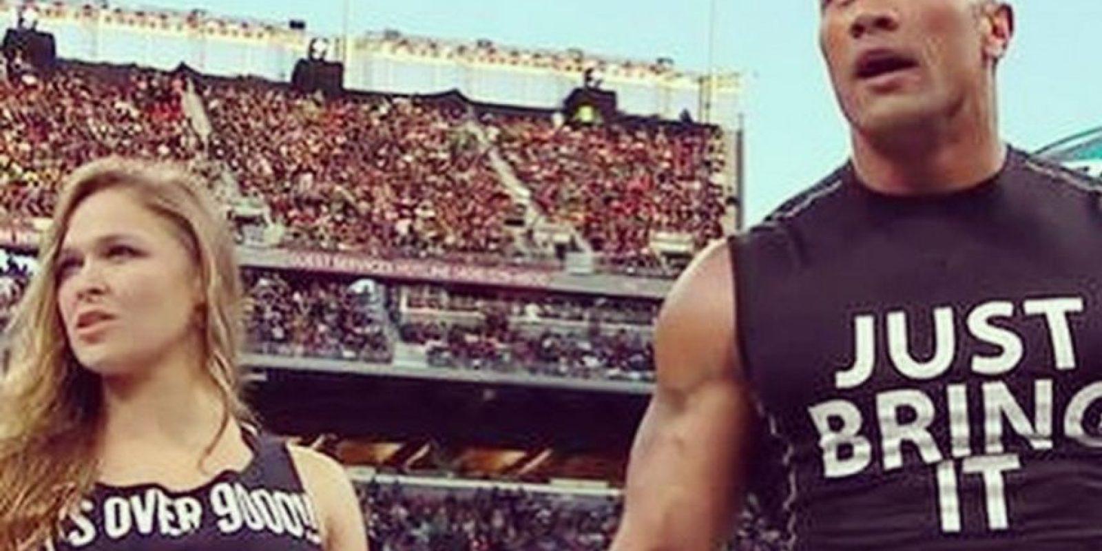 Es una leyenda viviente de la WWE Foto:Vía: instagram.com/therock