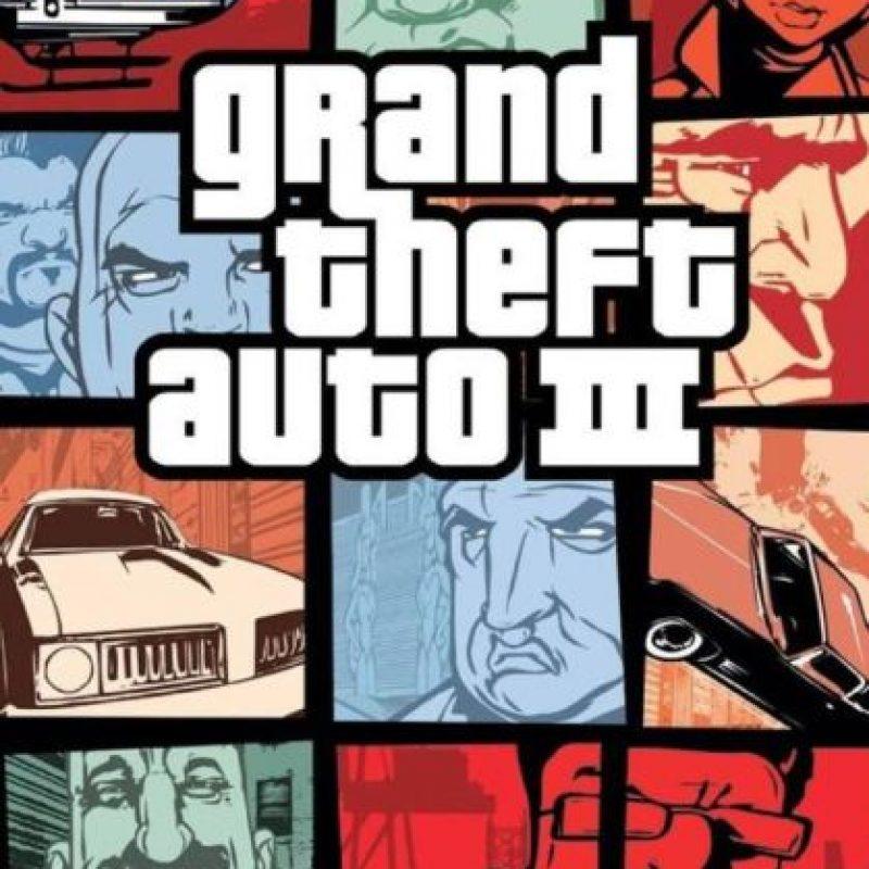 Grand Theft Auto III (2001). Foto:Rockstar Games