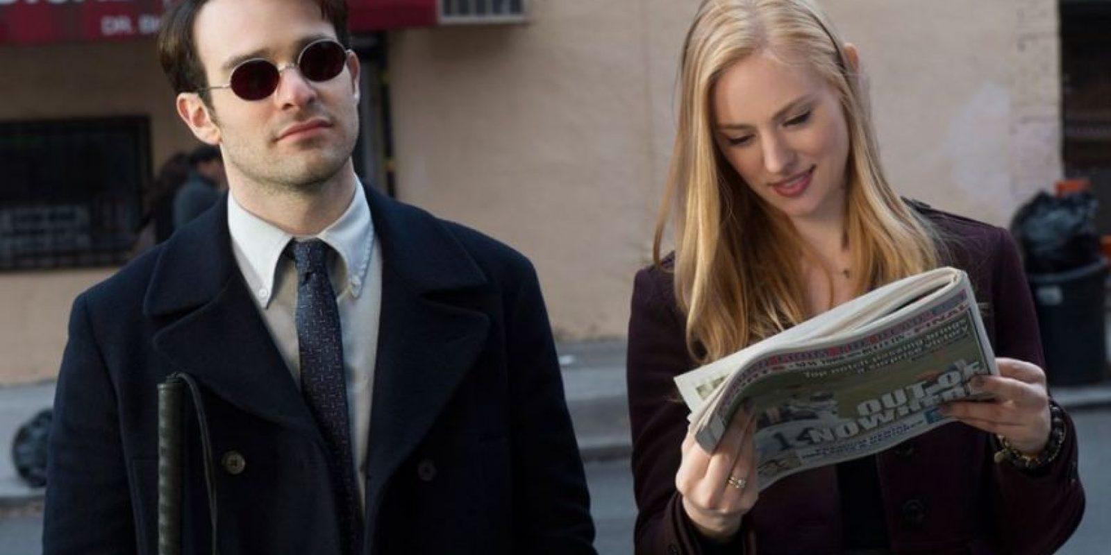 En la serie actuarán Charlie Cox como Matt Murdock/Daredebil y Deborah Ann Woll como su secretaria enamorada Foto:Marvel.com