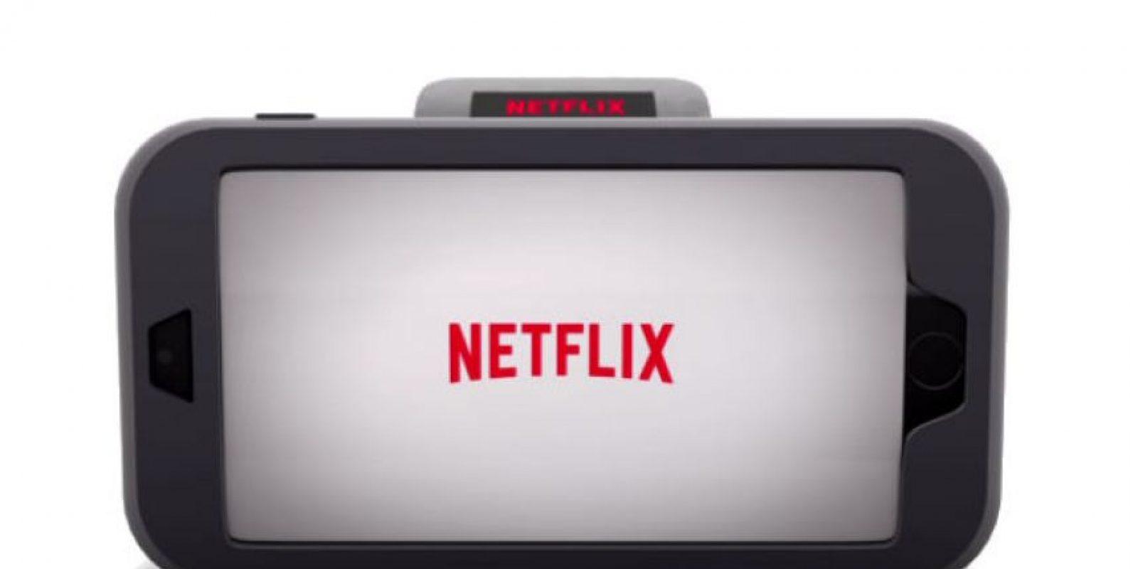 Así imagina Netflix su smartwatch Foto:Netflix