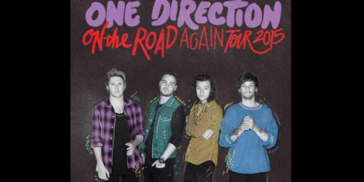 FOTO: Revelan nuevo póster de One Direction sin Zayn Malik