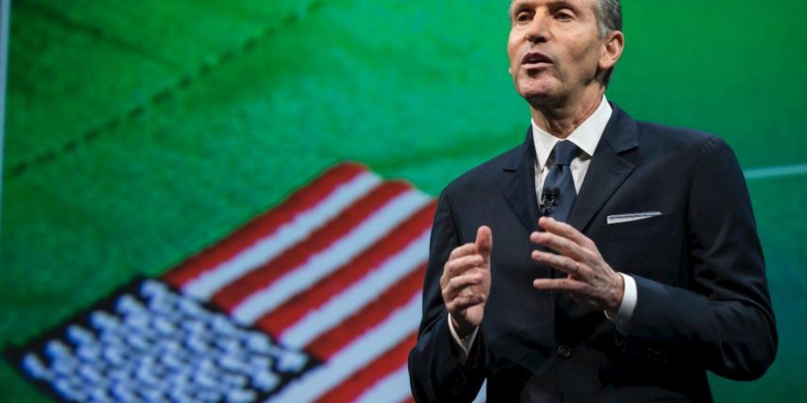 En la foto: Howard Schultz, fundador de Starbucks. Foto:Getty Images