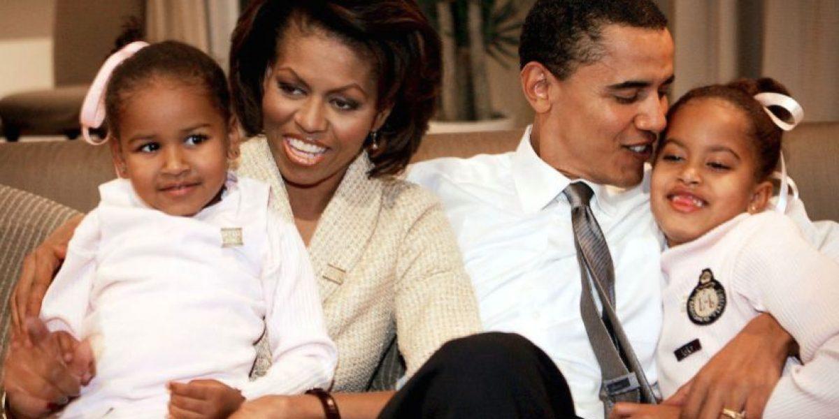 Fotos: Así ha cambiado la familia Obama desde su llegada al poder
