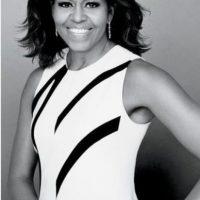 Michelle Obama en Glamour, mayo 2015. fotografía de Patrick Demarchelier Foto:Vía Pinterest/Glamour.com