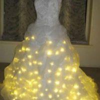Con este vestido, sí que brillarán Foto:Bodasmexico.com