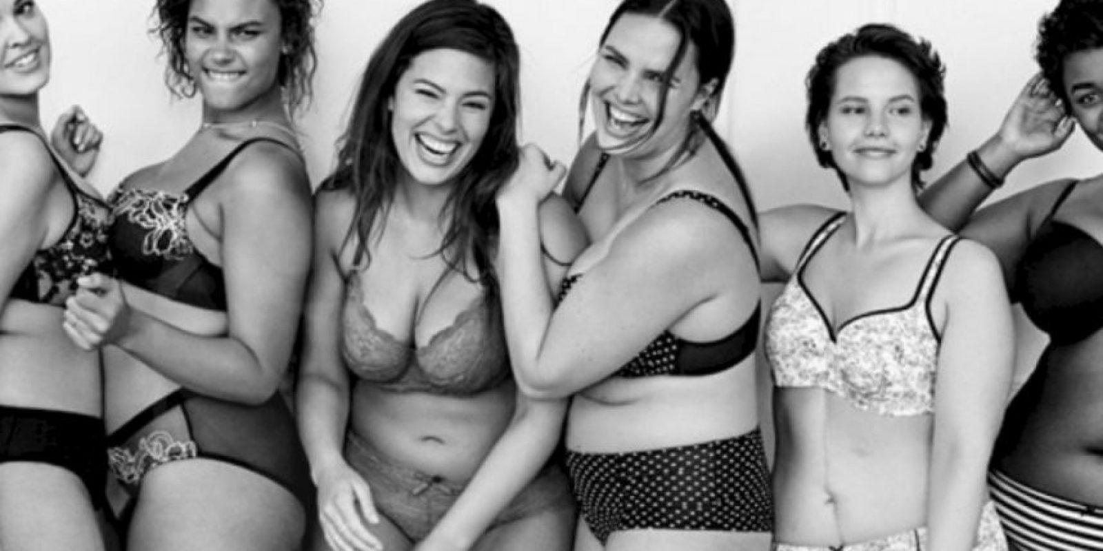 Se llama #ImNoAngel, de Lane Bryant, donde se critican los estereotipos de belleza. Foto:vía Youtube/Lane Bryant