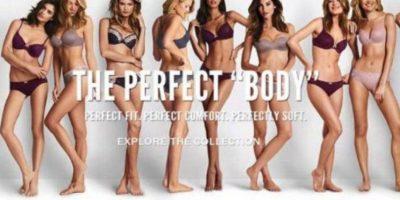"""Esto, en contrapeso al ideal de modelos como los de """"Victoria´s Secret"""". Foto:vía Twitter/Perfect Body"""