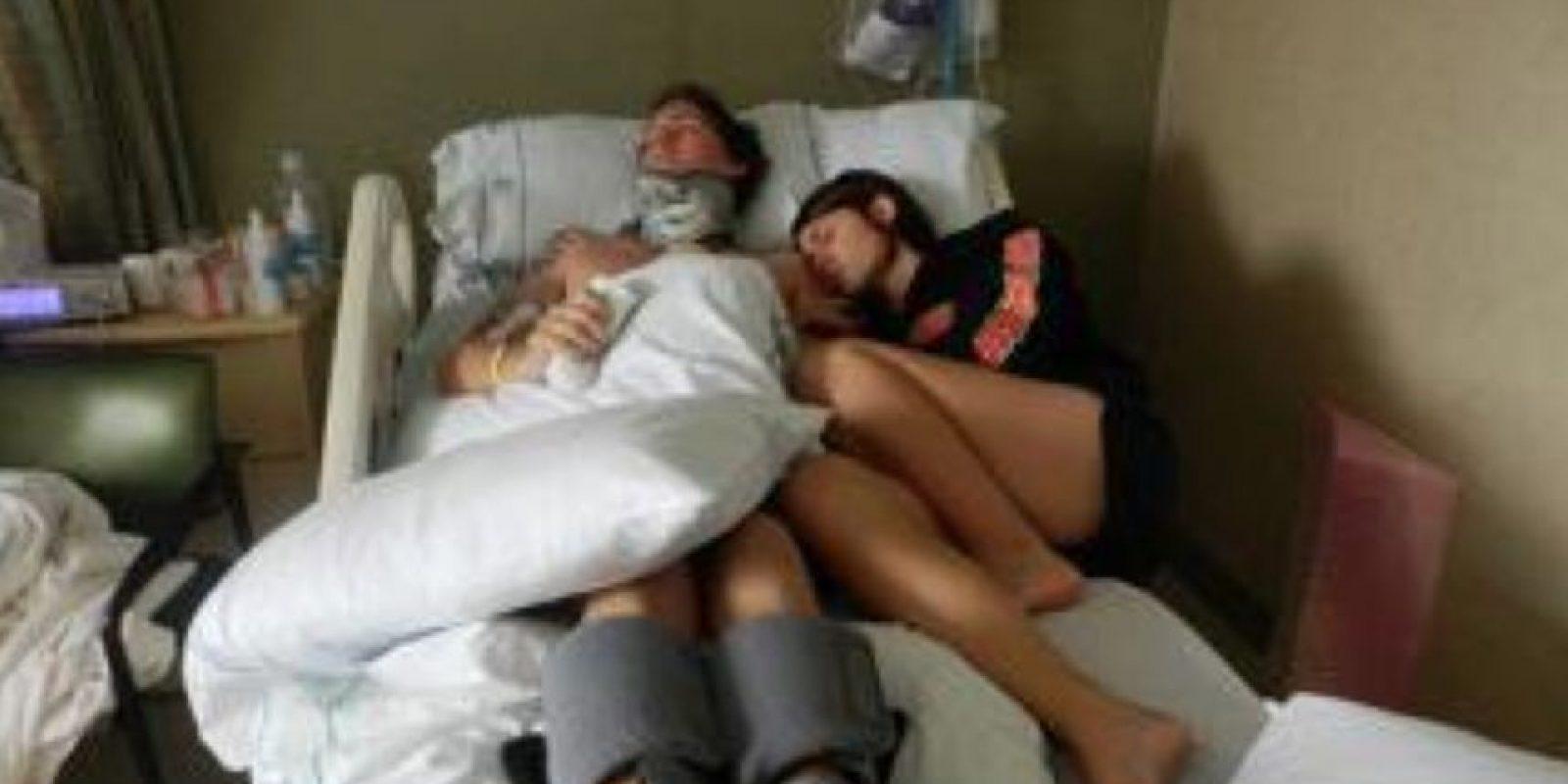 Matt Davis quedó en coma en 2011 Foto:vía GoFundMe