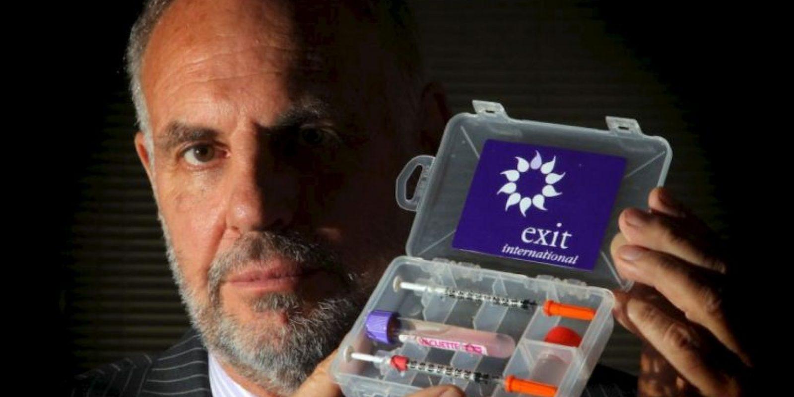 Doctor Philip Nitschke, llamado Dr. Muerte, es uno de los principales promotores de la eutanasia. Foto:vía Getty Images