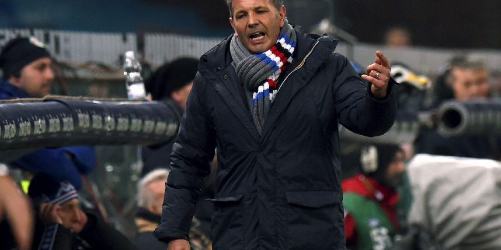 El ahora DT de Sampdoria marcó 28 goles de tiro libre Foto:Getty Images