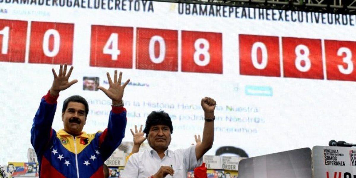 Maduro y Obama se