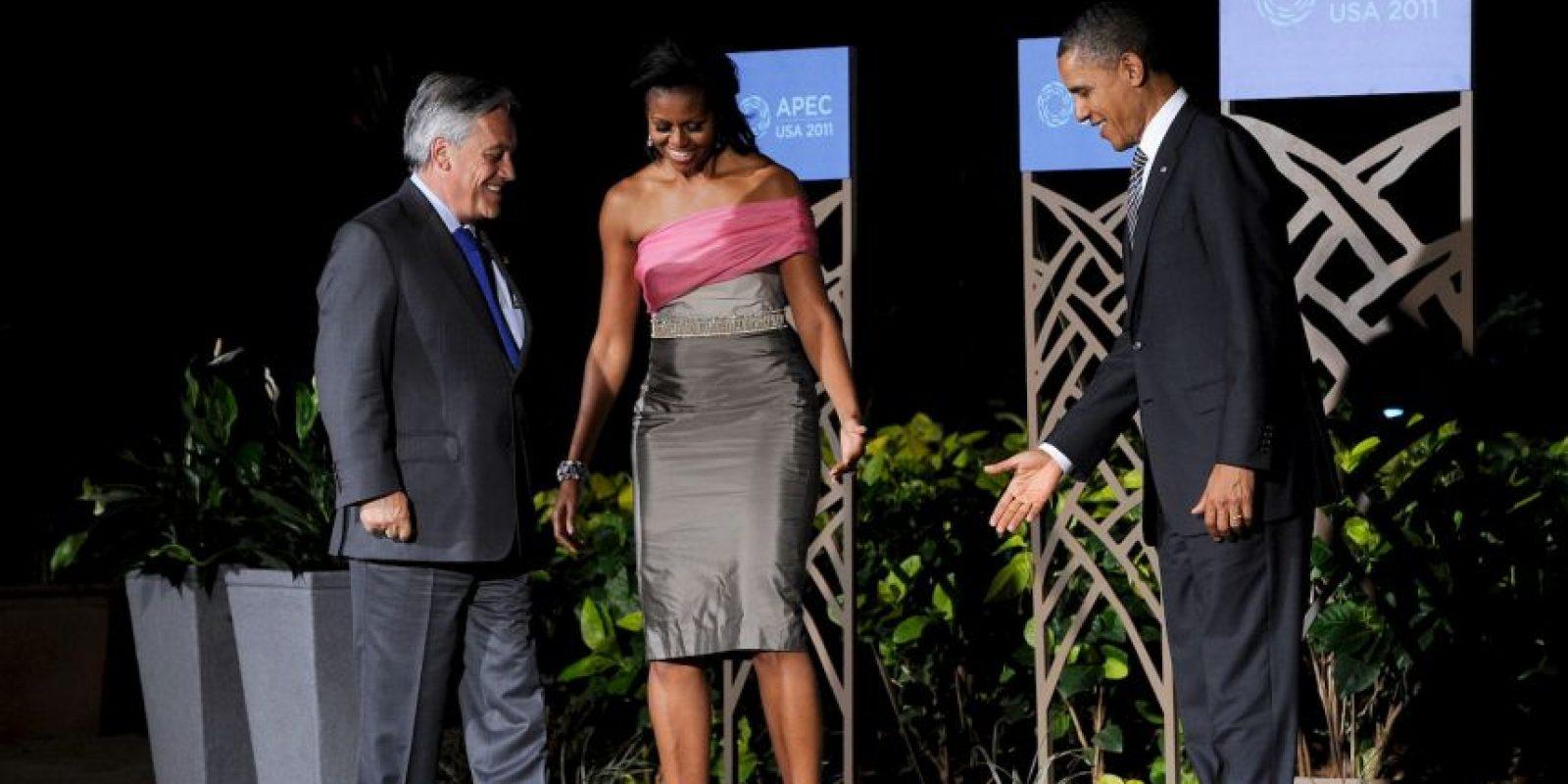 En 2011, el exmandatario chileno participó en la XIII Cumbre de Jefes de Estado y de Gobierno, que se desarrolló en Tuxtla Gutiérrez, México, en la que al finalizar su ponencia dijo el polémico chiste Foto:Getty Images