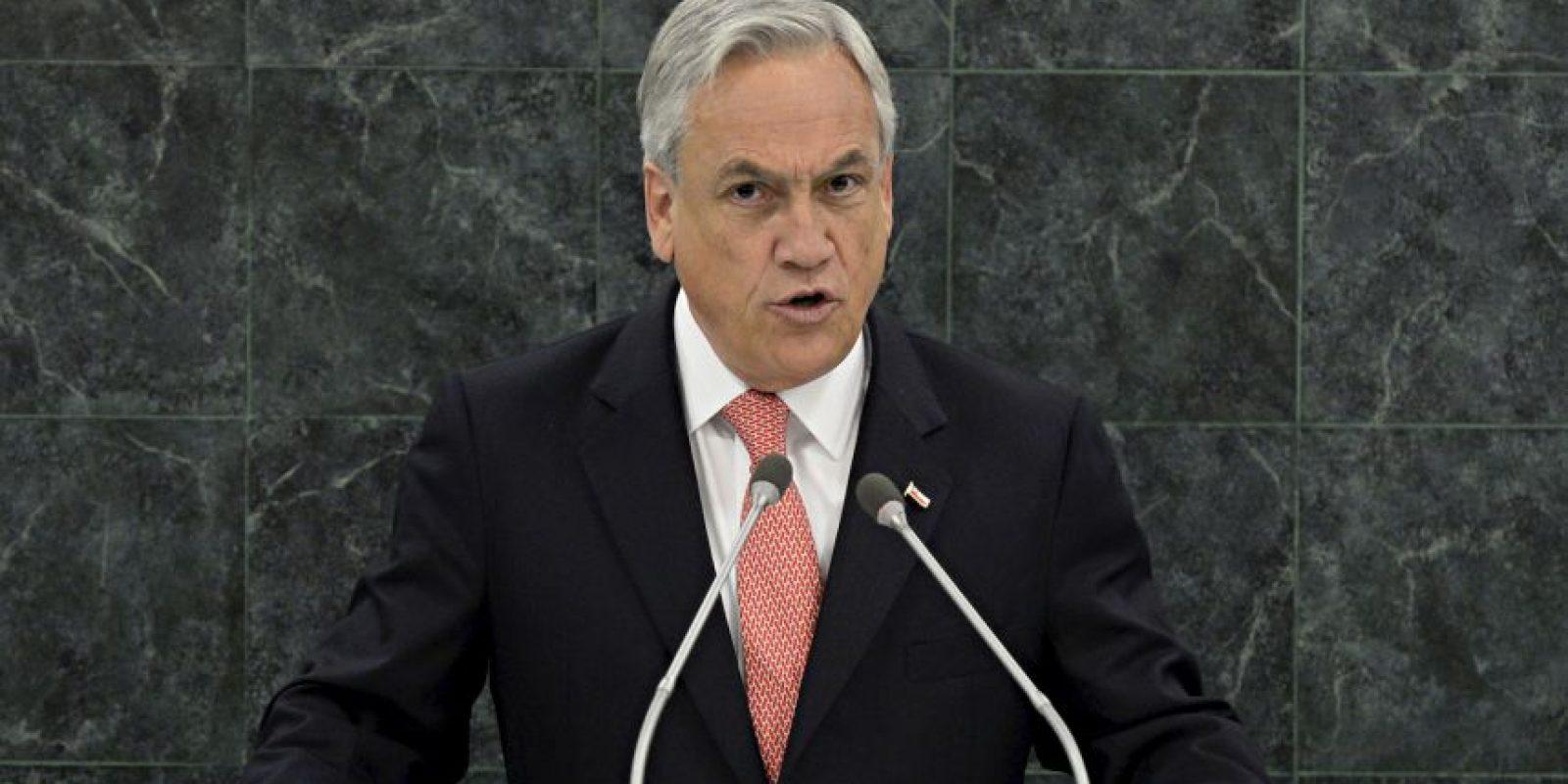4. Sebastián Piñera y la diferencia entre una mujer y un político Foto:Getty Images