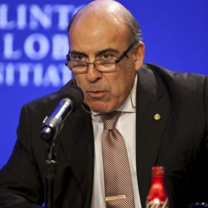 3. Muhtar Kent – CEO de The Coca Cola Company Foto:Getty Images