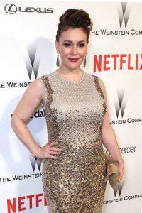 Alyssa Milano es una actriz estadounidense Foto:Getty Images