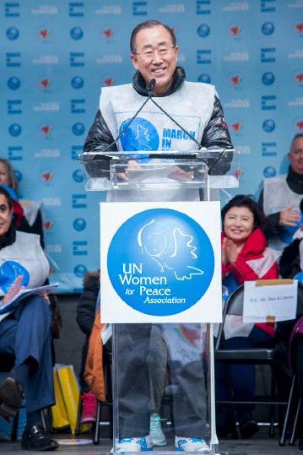 Ban ki-Moon, Secretario general de la ONU – Cumbre Empresarial de las Américas Foto:Getty Images