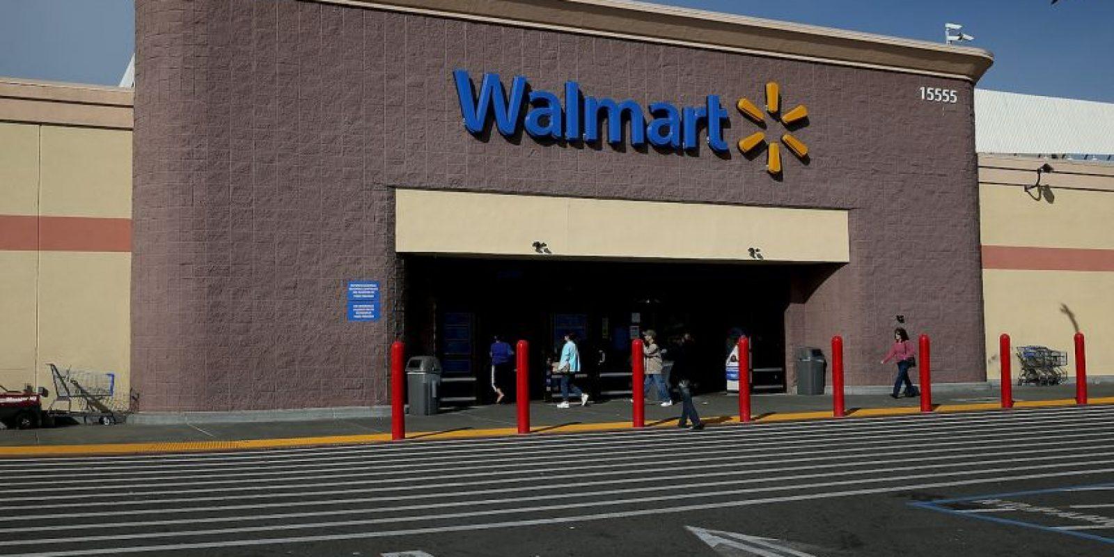 Walmart opera más de 11 mil 450 tiendas en 27 países Foto:Getty Images
