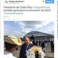Foto:Twitter.com/CumbrePanama