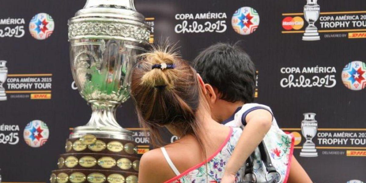 El trofeo de la Copa América tendrá su paso por Bogotá