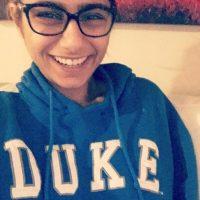 La libanesa es fan de los Blue Devils de Duke Foto:Vía twitter/miakhalifa
