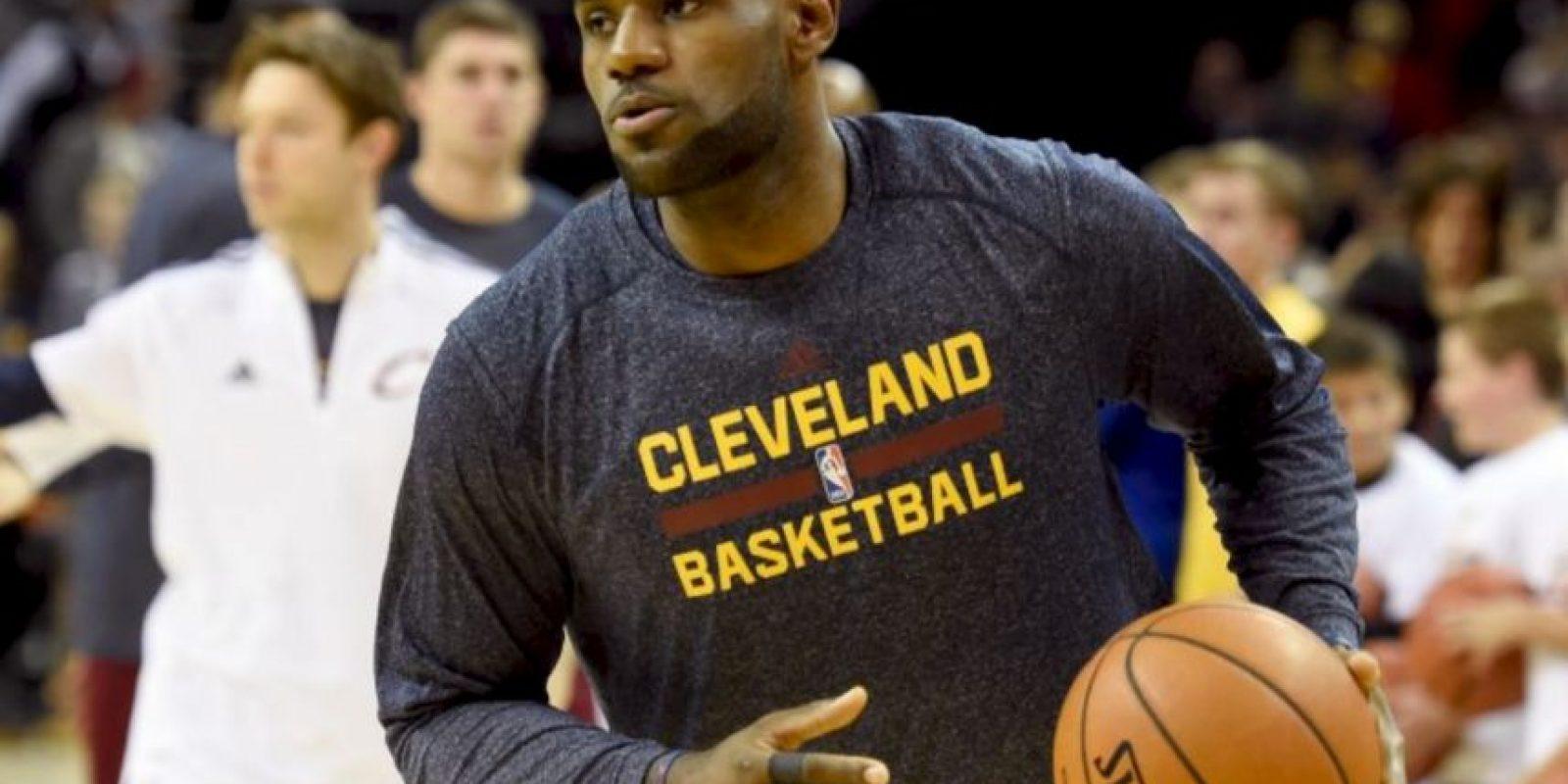 """""""Eres mi inspiración"""" dijo el basquetbolista Foto:Getty Images"""