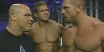 Los demandantes: Luther Reigns (derecha) Foto:WWE