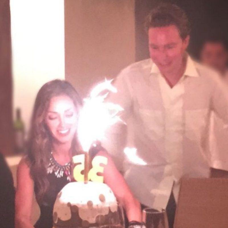 Y en esta, donde se celebra el cumpleaños de Anahí. Foto:Vía Instagram.com/anahiofficial