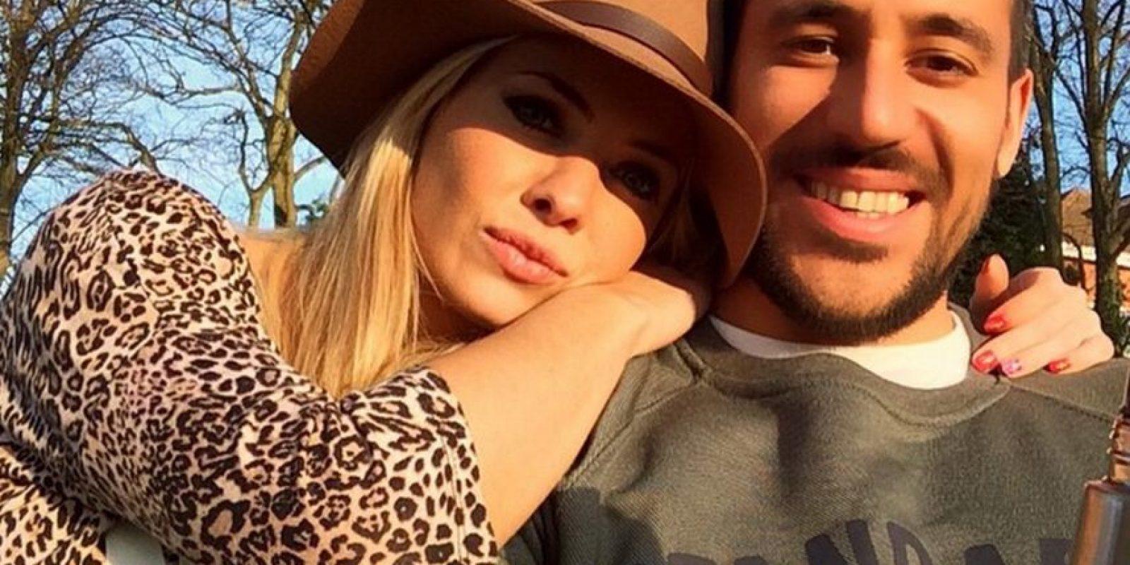 Es pareja del futbolista del Newcastle y seleccionado argentino Jonás Gutiérrez Foto:Vía instagram.com/alemaglietti