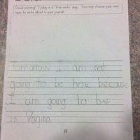 """""""Tendré un día libre porque estaré en vagina"""". Foto:vía MommyLand"""