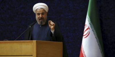 El presidente iraní Hassan Rouhan Foto:AP