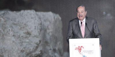 """2. Carlos Slim – El segundo hombre más rico del mundo, de acuerdo con la revista """"Forbes"""" Foto:Cumbreempresarialdelasamericas.com"""