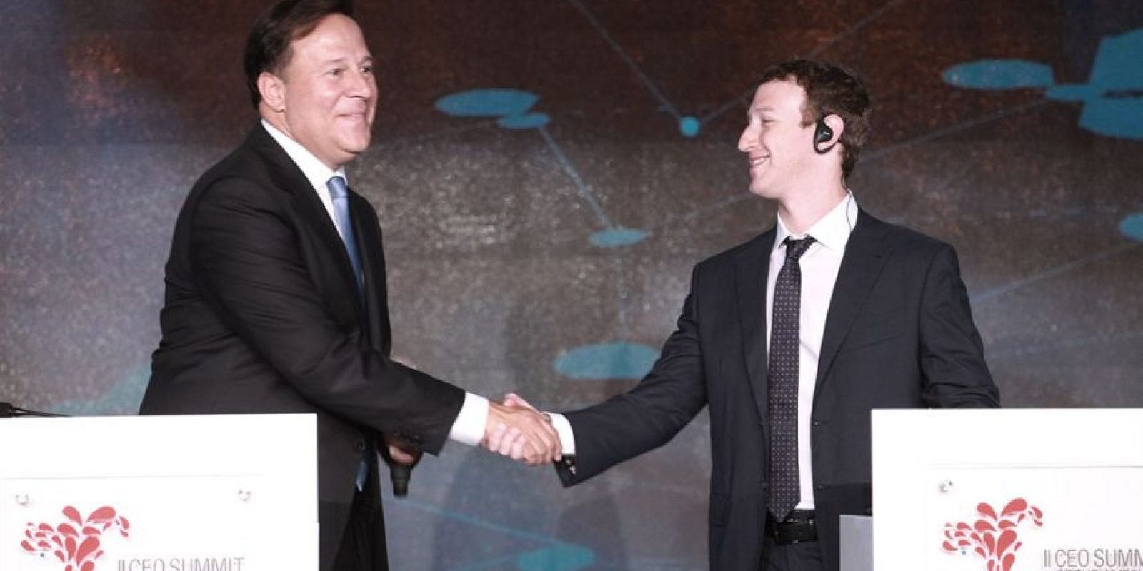 1. Mark Zuckerberg – CEO de Facebook Foto:Cumbreempresarialdelasamericas.com