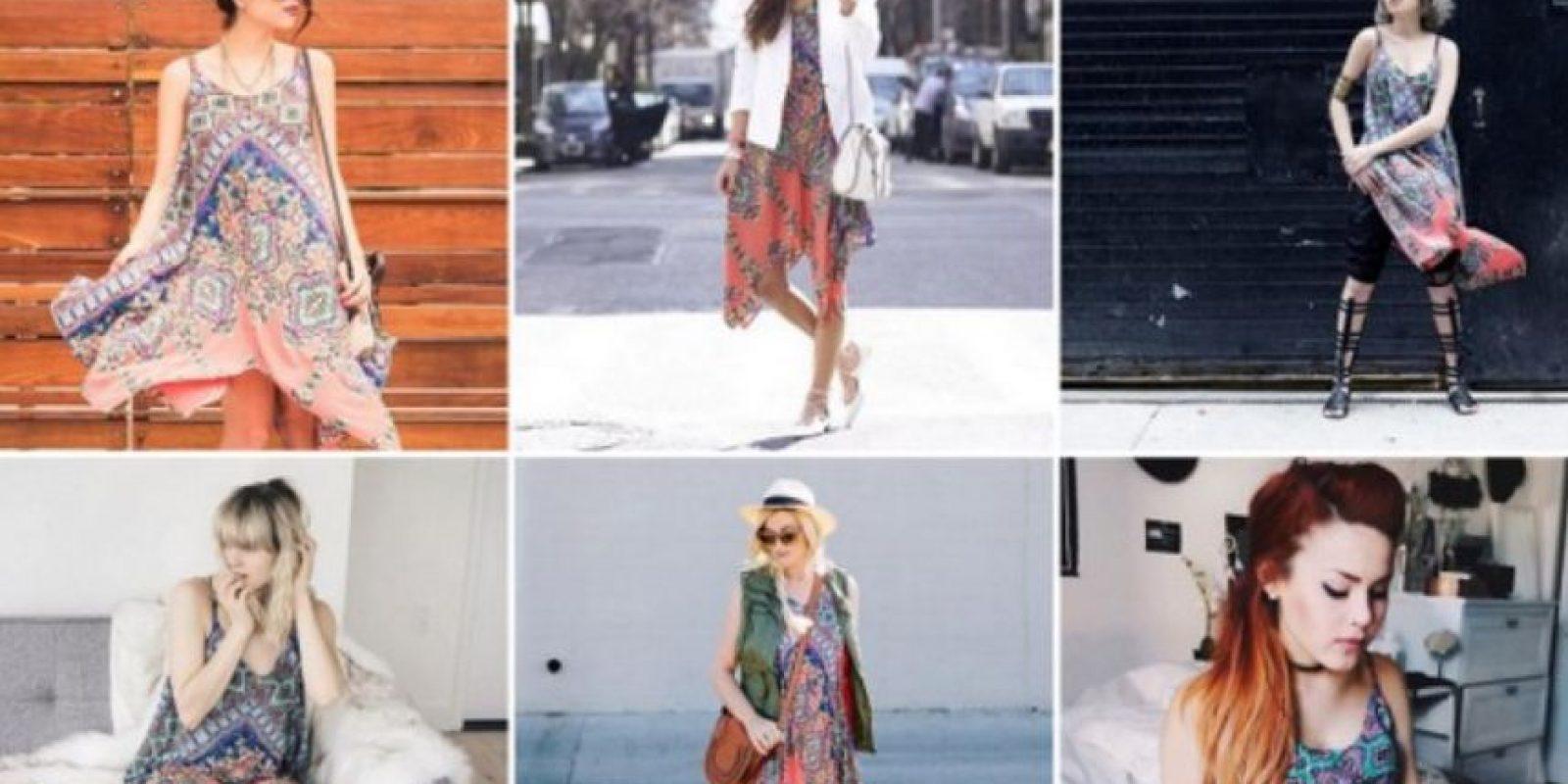 """No, esto no es lo que pasó con una tienda que vistió a 50 blogueras. Inspirados en el Tumblr """"Shit Bloggers Wear"""" decidimos buscar varias tendencias en Google para saber si la teoría de que el estilo callejero es lo mismo de lo mismo era verdad, y esto fue lo que pasó. Foto:vía Instagram"""