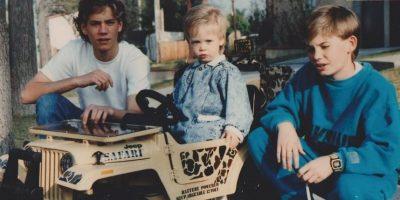 Caleb, Cody y Paul Walker Foto:Vía facebook.com/codywalker/timeline