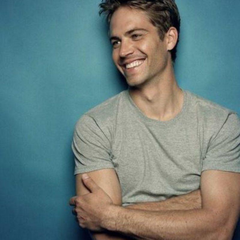 """Fue conocido por interpretar a """"Brian O'Conner"""" en la saga """"The Fast and the Furious"""" Foto:Vía facebook.com/PaulWalker"""