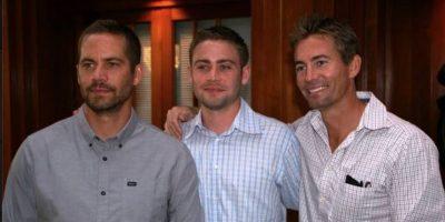 Paul, Cody y Caleb Walker Foto:Vía facebook.com/codywalker/timeline
