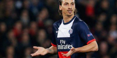 """Molesto por la derrota de su equipo frente a Burdeos, Ibrahimovic dijo que """"Francia es un país de mierda que no merece al PSG"""". Foto:Getty Images"""