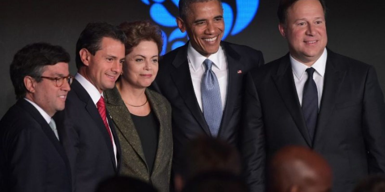 Se reunió con sus homólogos de Brasil, México y Panamá Foto:AFP
