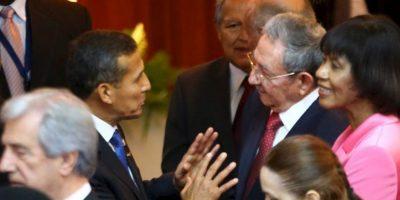 """""""Ya era hora de que Cuba tuviera participación"""", expuso Raúl Castro. Foto:AFP"""