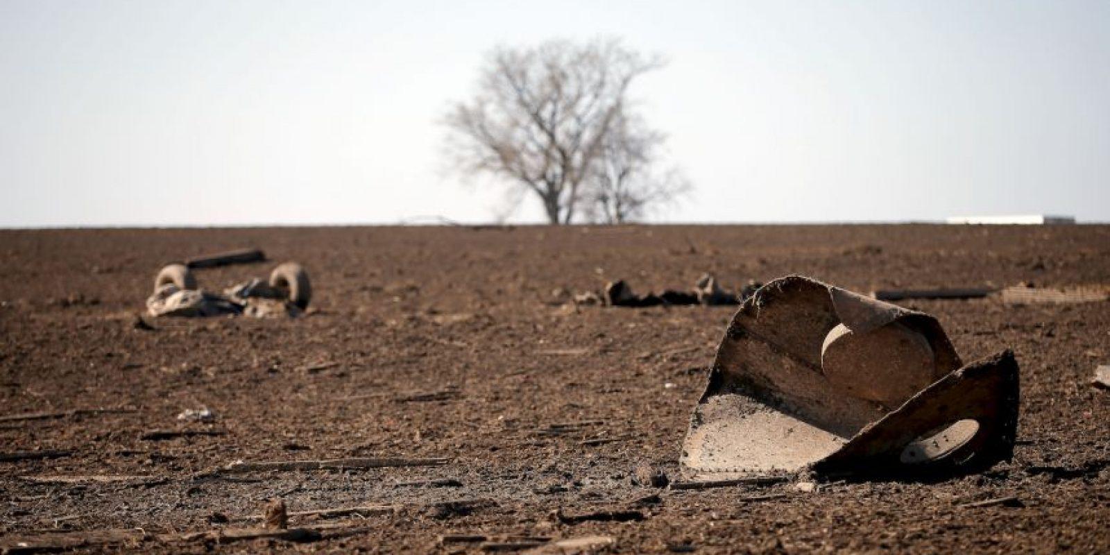 El poblado de Rochelle fue completamente destruido Foto:Getty Images