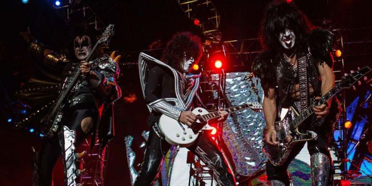 Fotos: Así fue el concierto de la agrupación Kiss en Bogotá