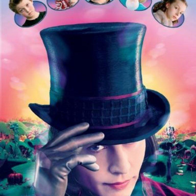 """""""Charlie y la Fábrica de Chocolates"""" Foto:IMDb"""