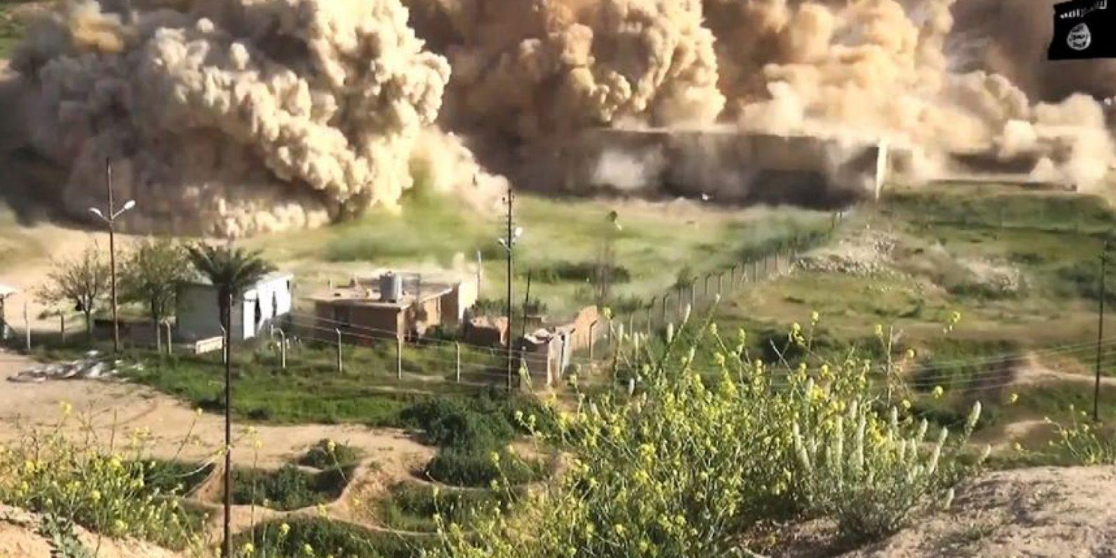 Los ataques han horrorizado a arqueólogos y al secretario general de Naciones Unidas Ban Ki-moon. Foto:AFP