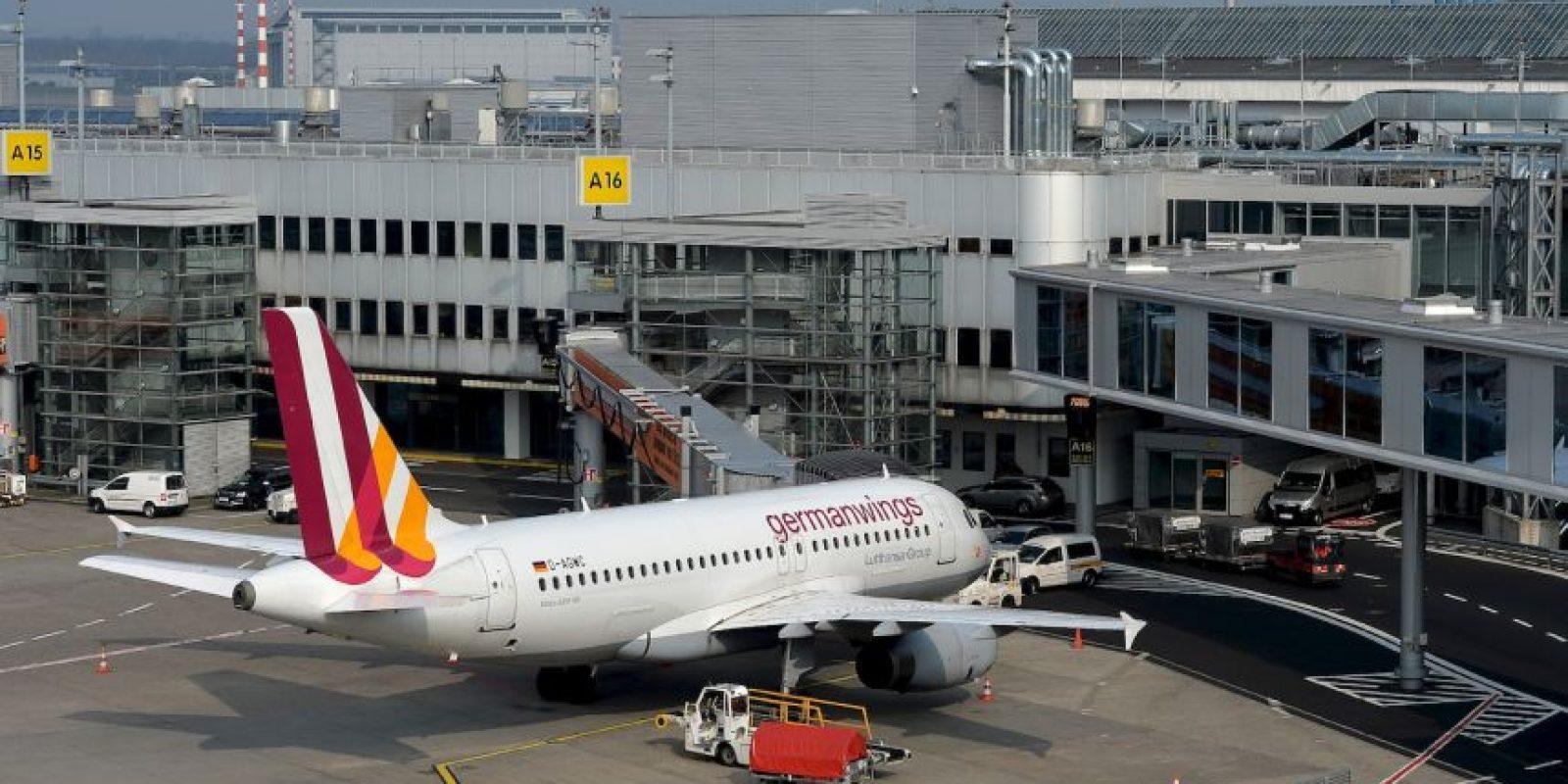 El vuelo 4U826 de Germanwings no pudó realizar el despegue. Foto:Getty Images
