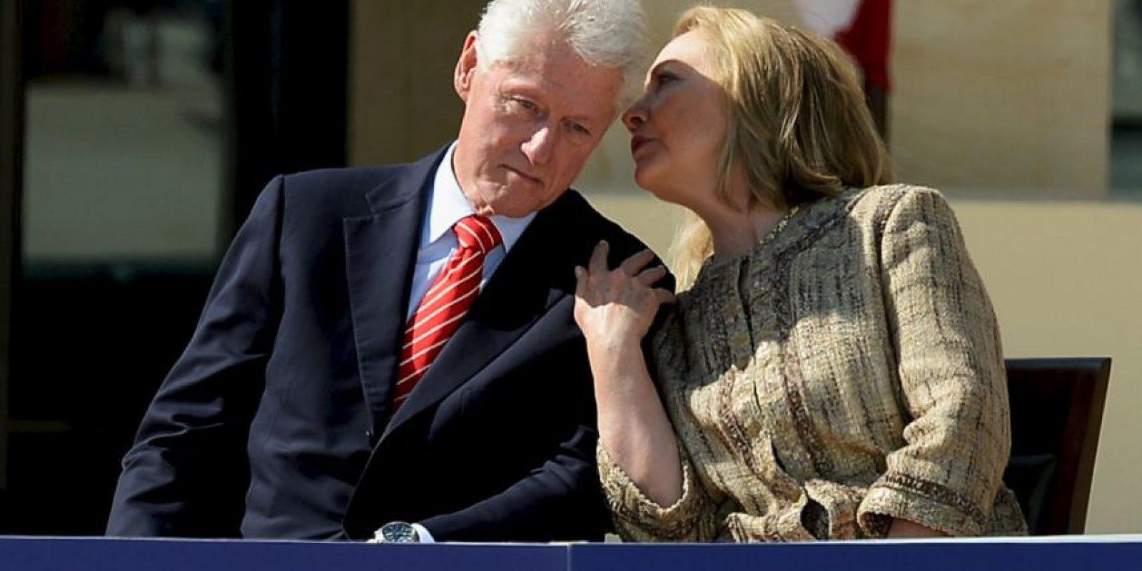 A pesar de los escándalos en los que se vio envuelto su marido, ella lo defendió Foto:Getty Images