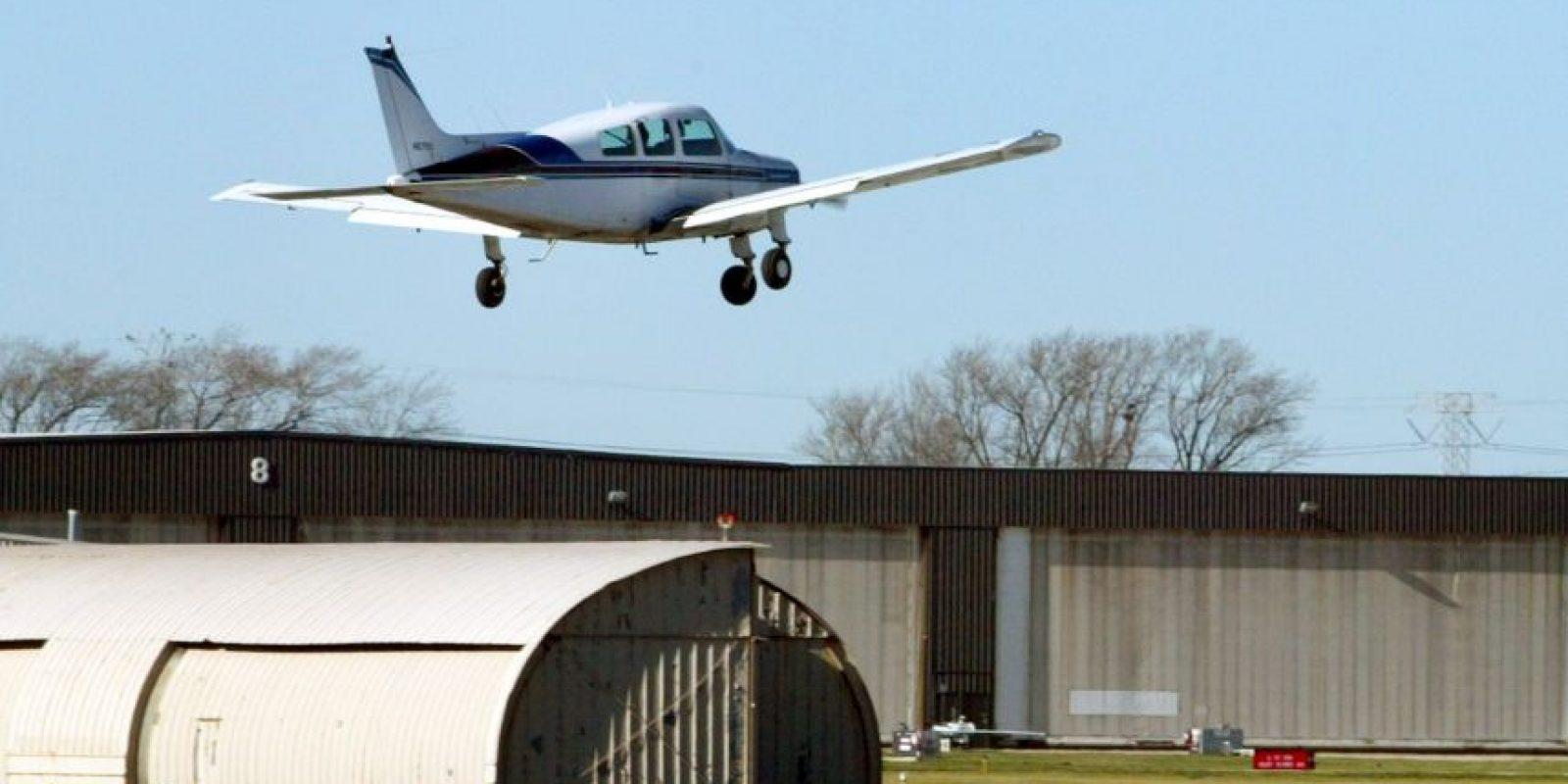el avión se estrelló en una zona boscosa Foto:Getty Images